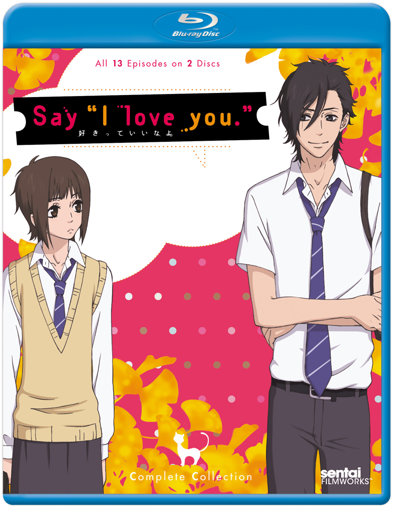 Say I Love You Blu-ray 814131013446