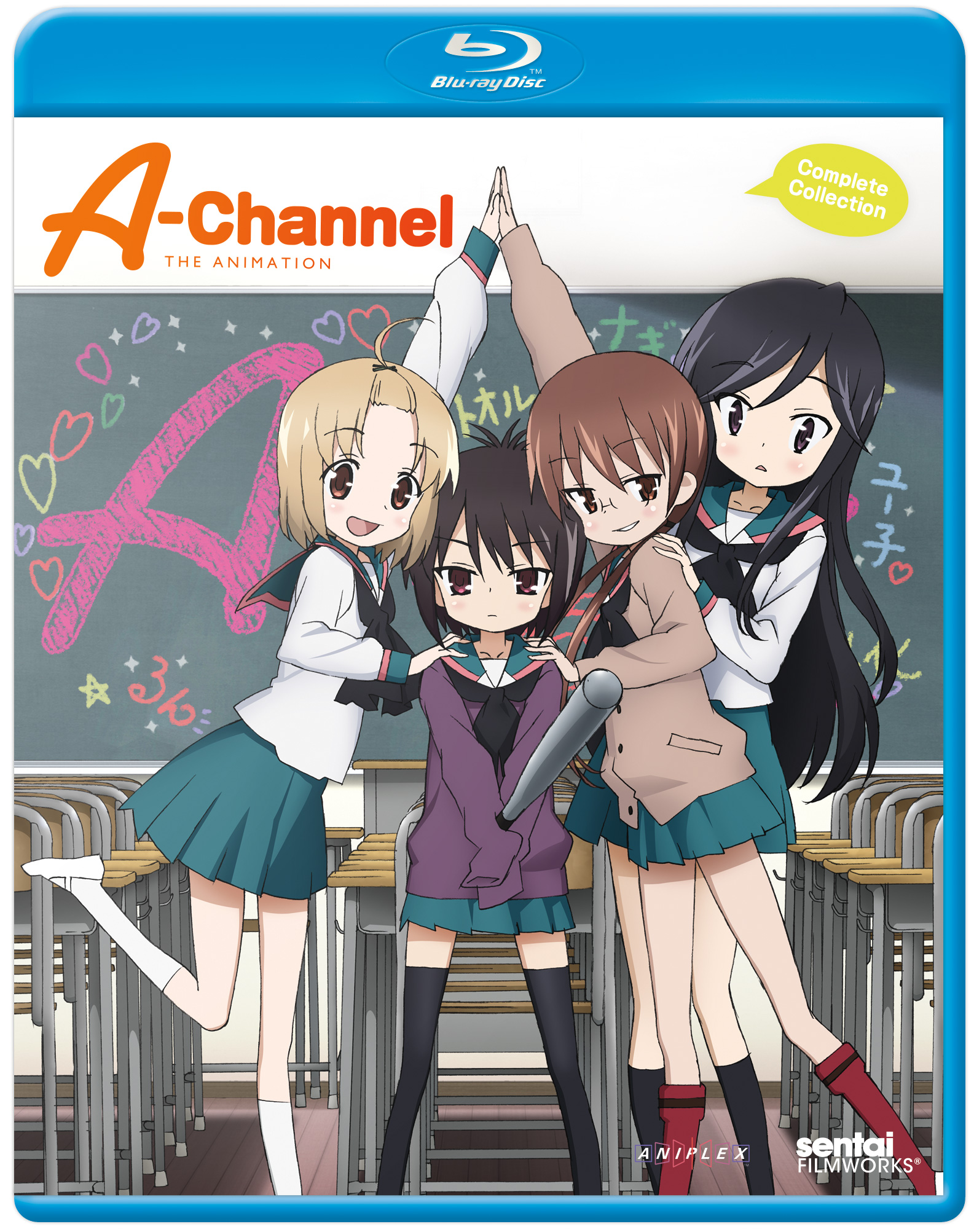 A-Channel Blu-ray 814131013460