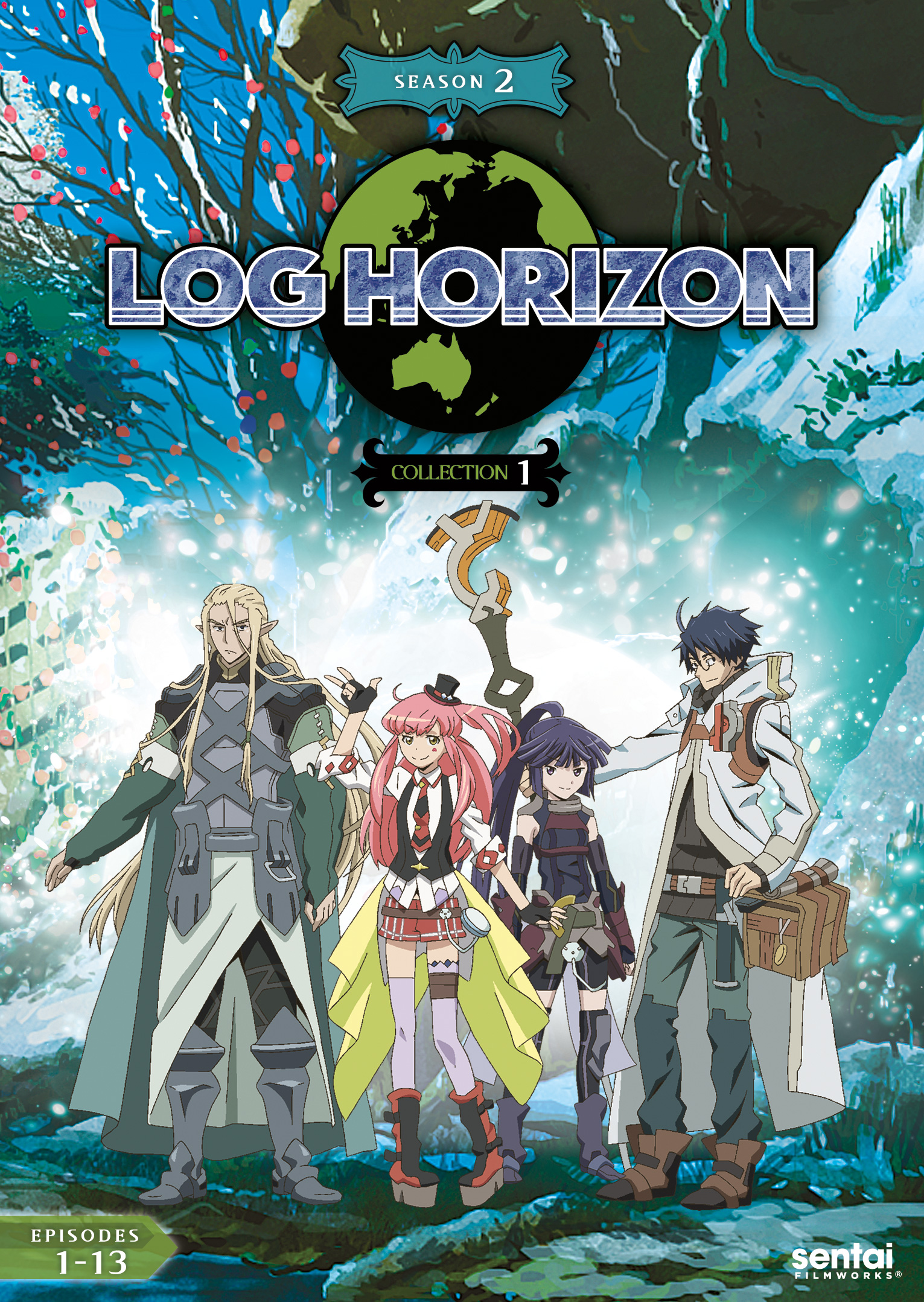 Log Horizon 2 Collection 1 DVD 814131013484