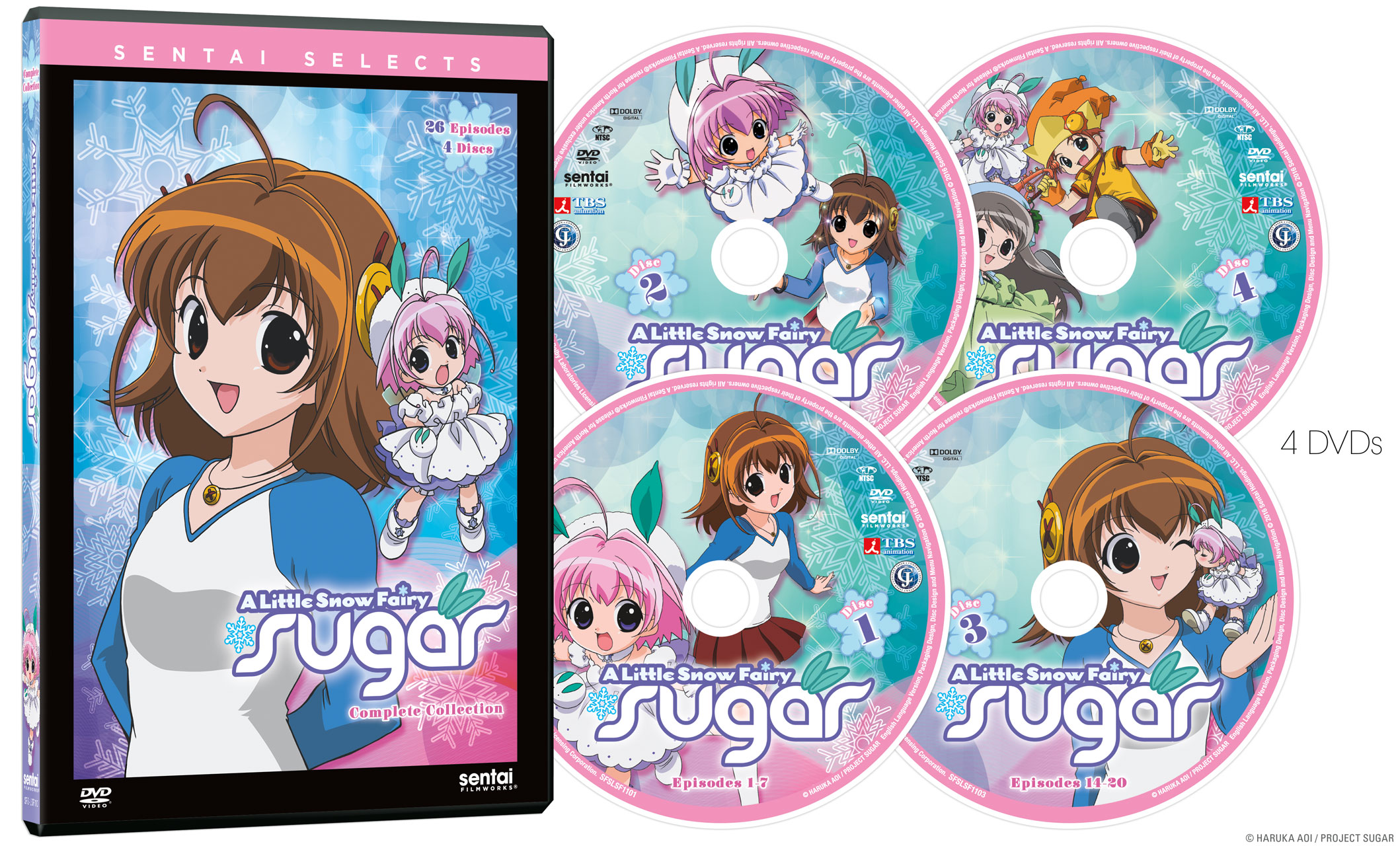 Little Snow Fairy Sugar Complete Collection DVD Sentai Selects