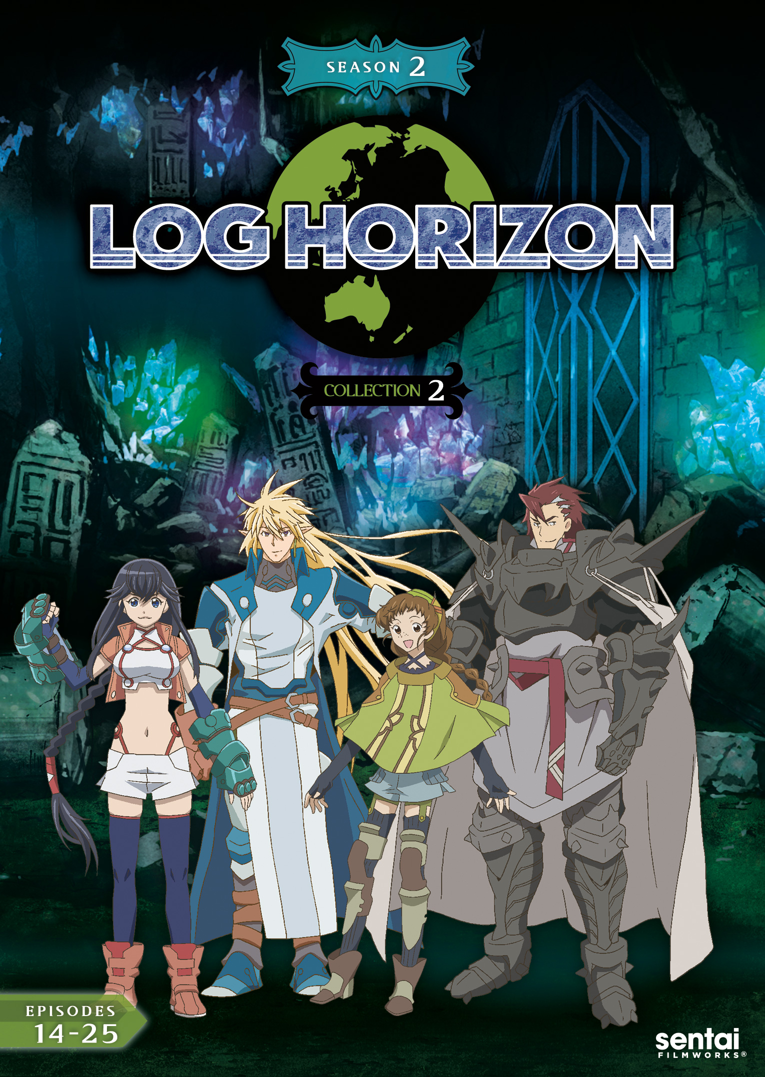 Log Horizon 2 Collection 2 DVD 814131013583
