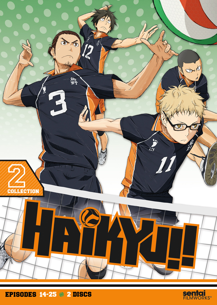 Haikyu!! Season 1 Collection 2 DVD 814131013774