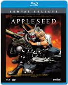 Appleseed Blu-ray/DVD Sentai Selects