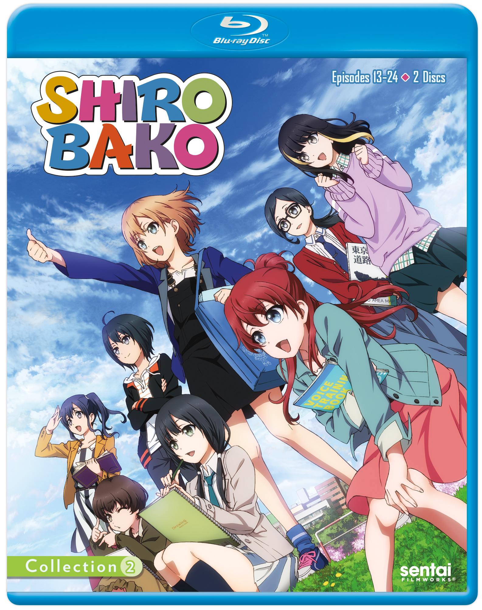 Shirobako Collection 2 Blu-ray 814131013798