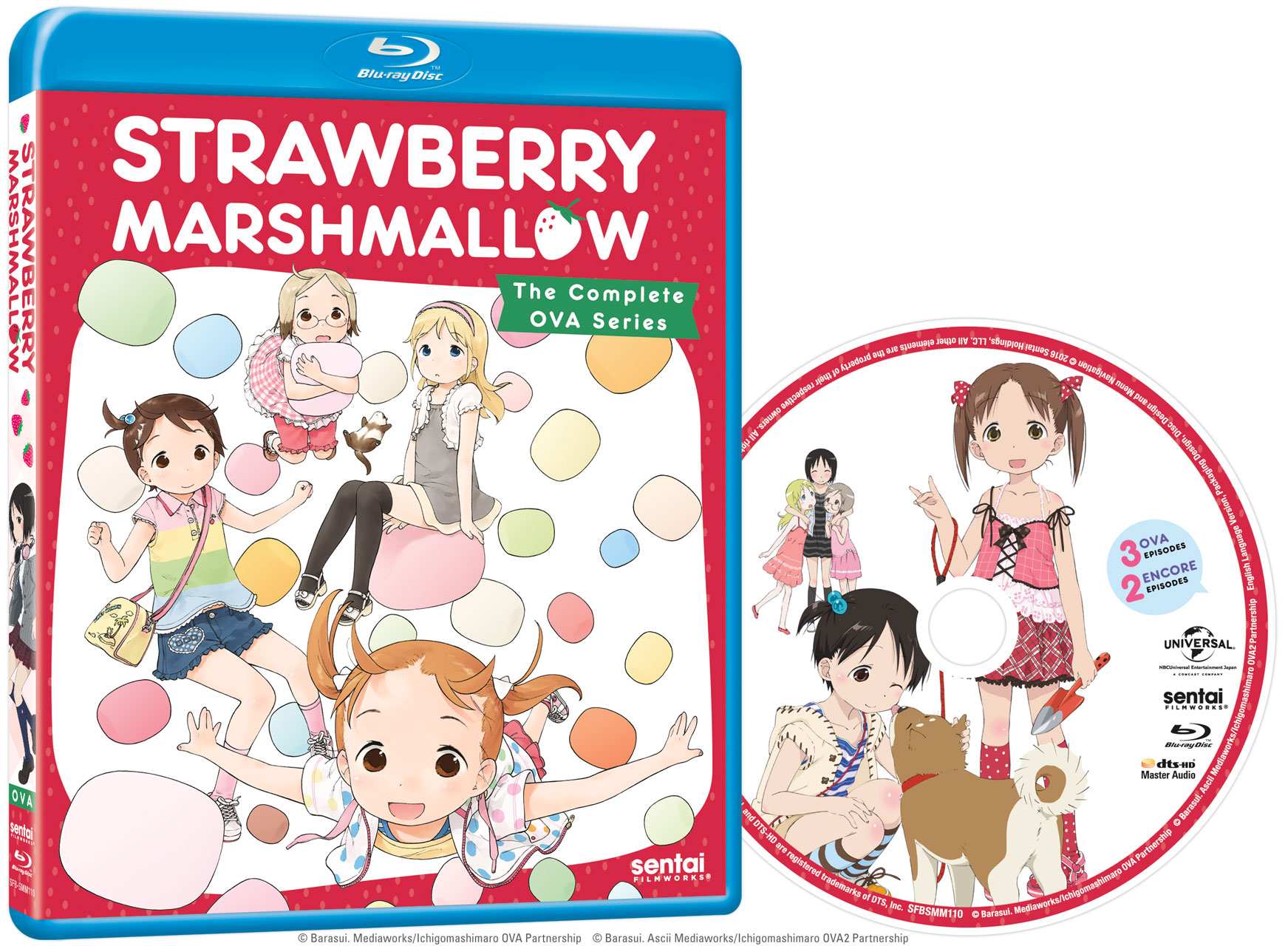 Strawberry Marshmallow OVA Blu-ray