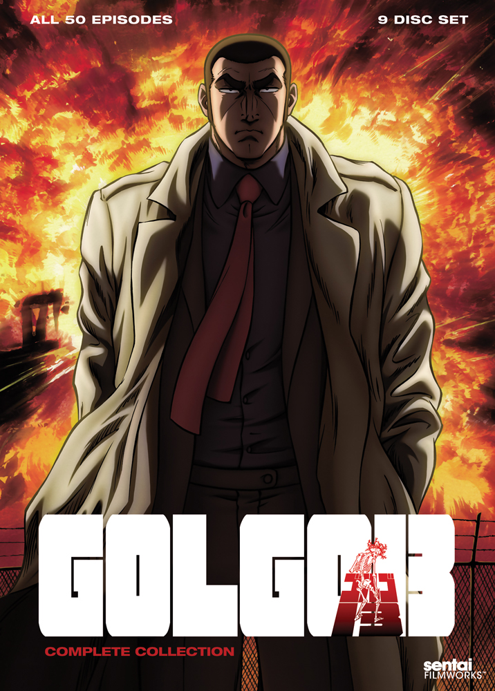 Golgo 13 Complete Collection DVD 814131014122