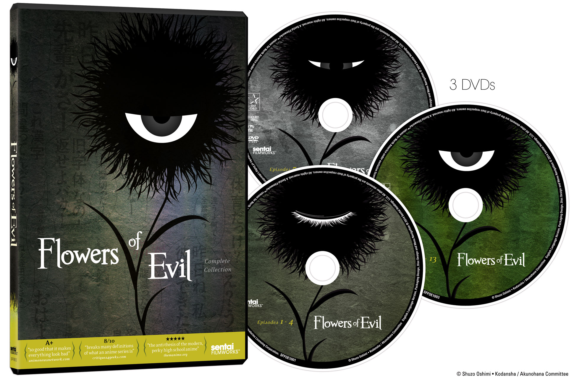 Flowers of Evil DVD