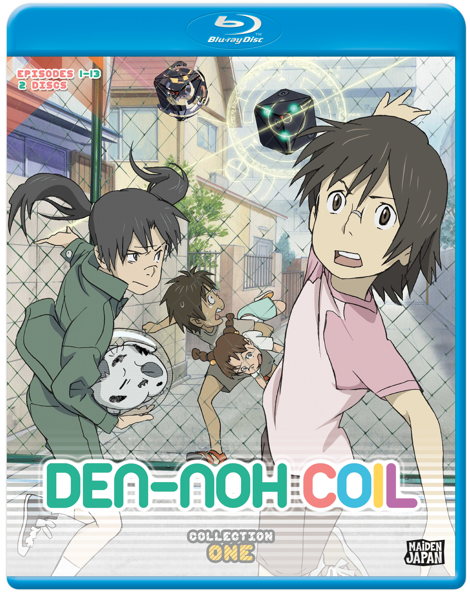 Den-noh Coil Collection 1 Blu-ray 814131014191