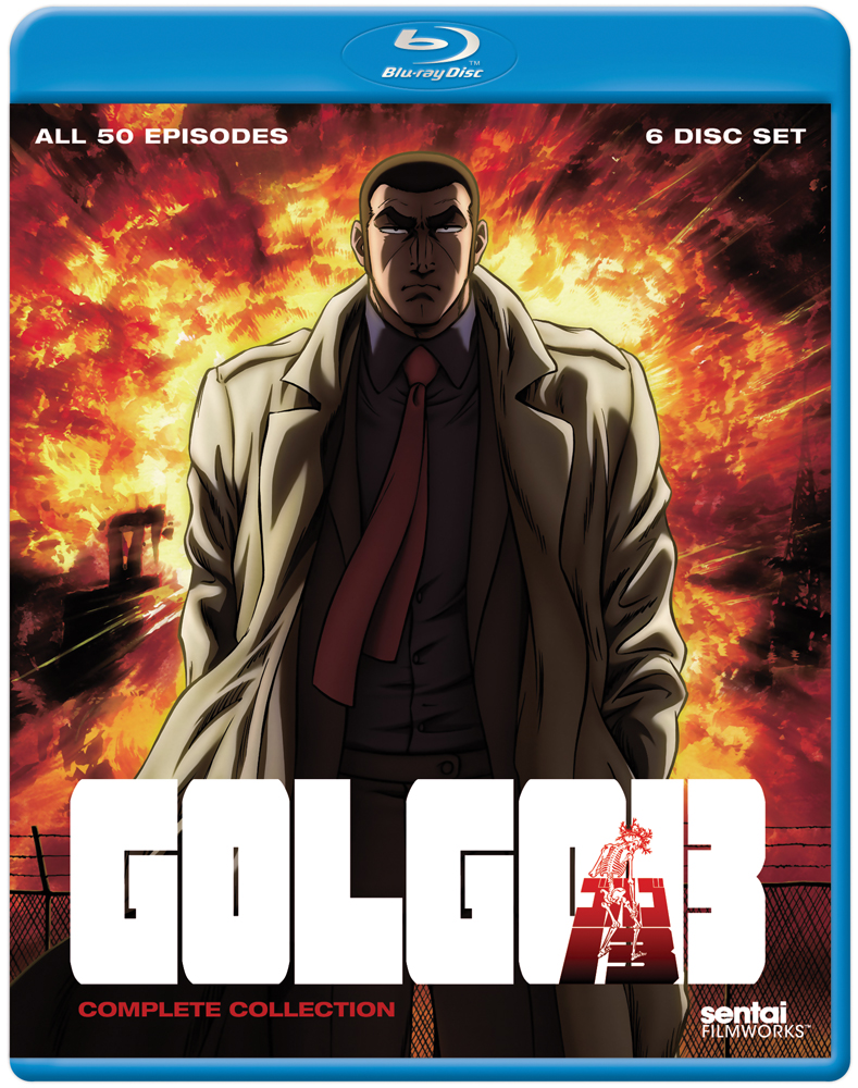 Golgo 13 Complete Collection Blu-ray