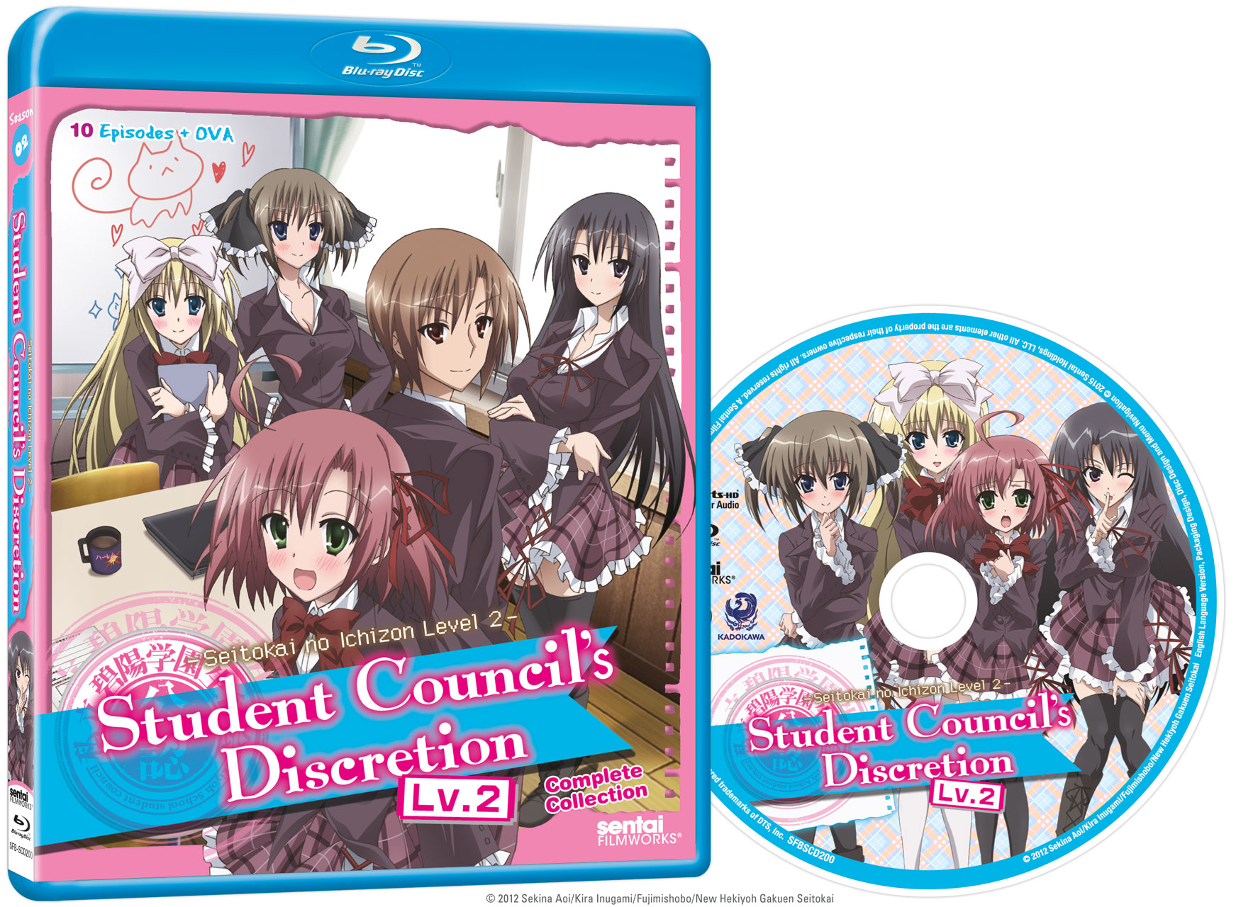 Student Council's Discretion Season 2 Blu-ray