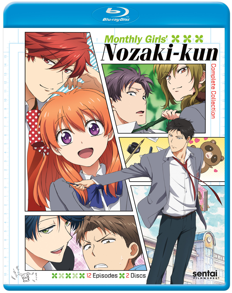 Monthly Girls' Nozaki-kun Blu-ray 814131014283