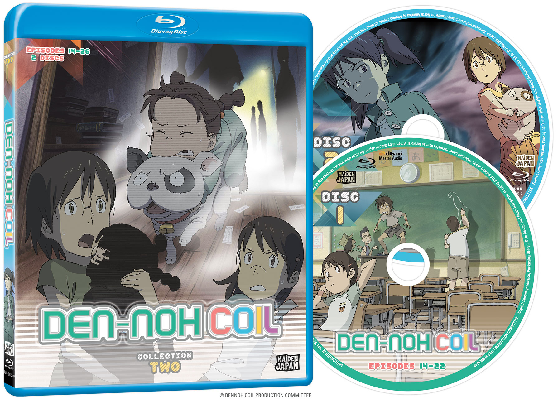 Den-noh Coil Collection 2 Blu-ray