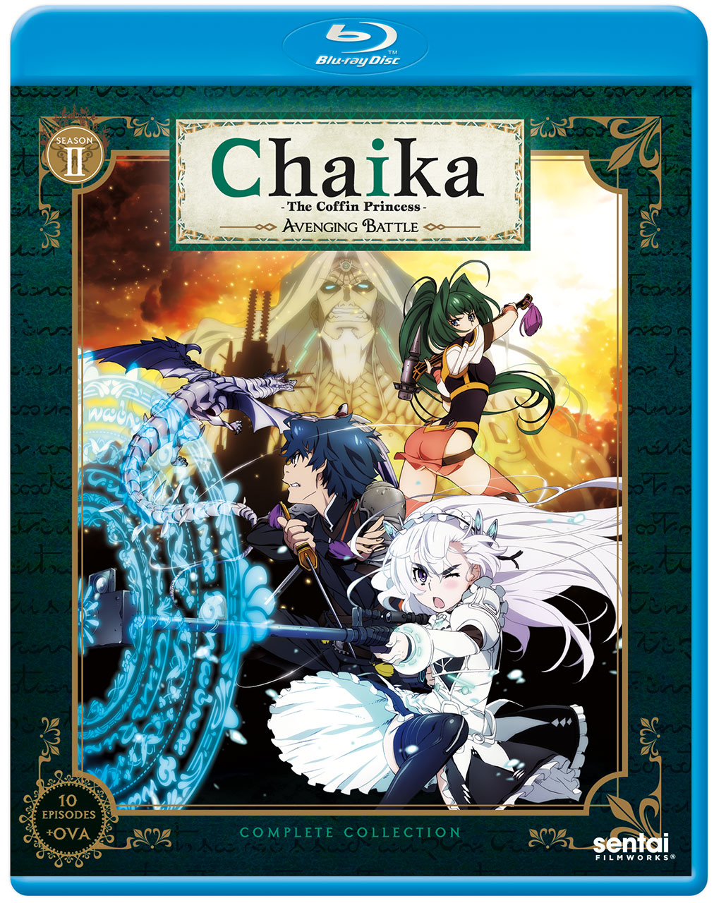 Chaika the Coffin Princess Avenging Battle (Season 2) Blu-ray 814131014399
