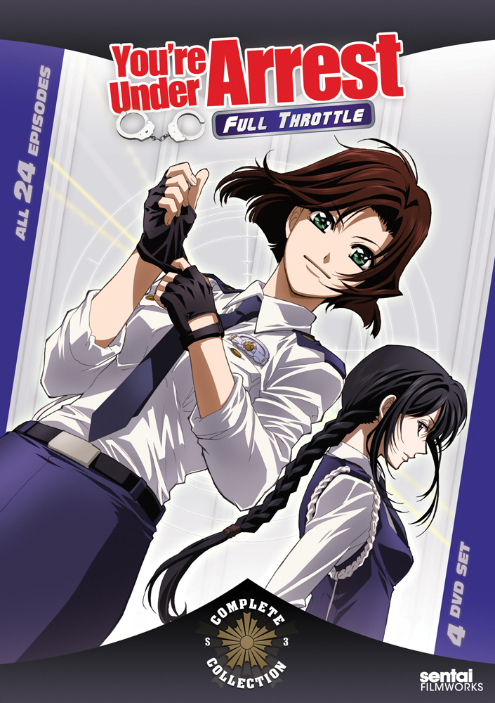 You're Under Arrest Full Throttle Complete Collection DVD 814131014405