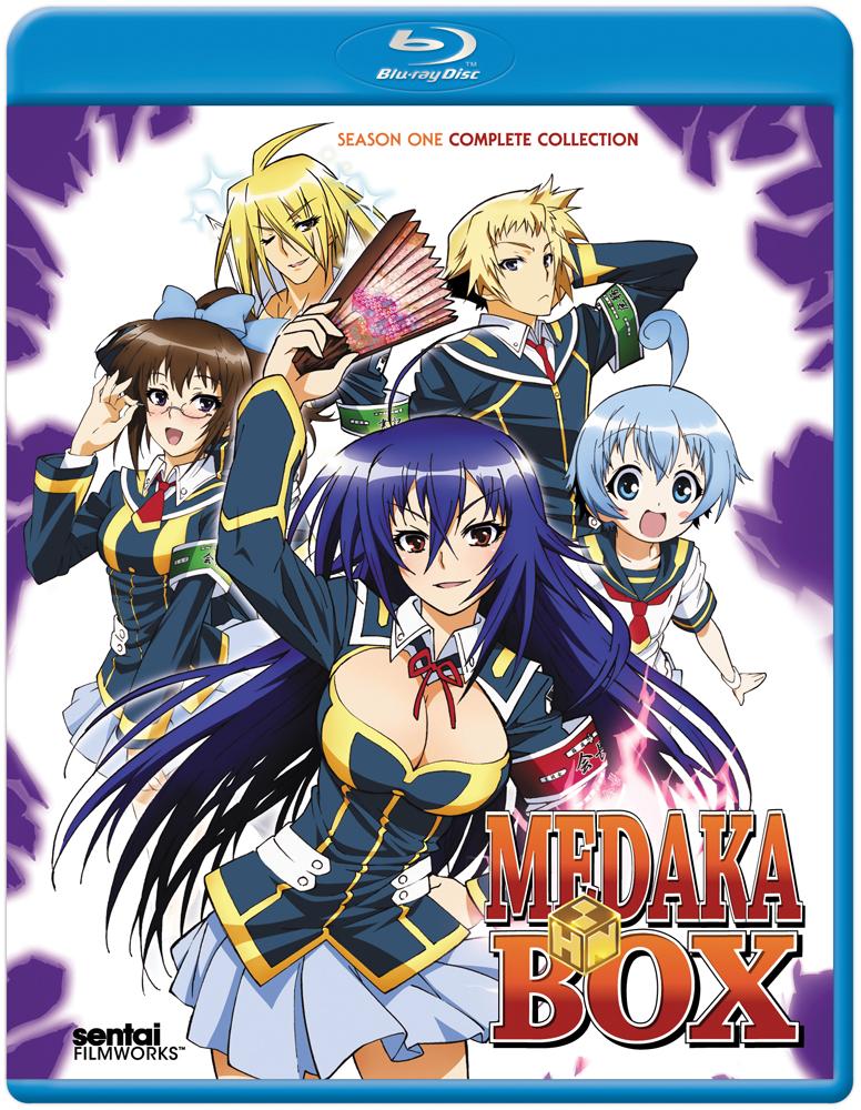 Medaka Box Blu-ray 814131014436