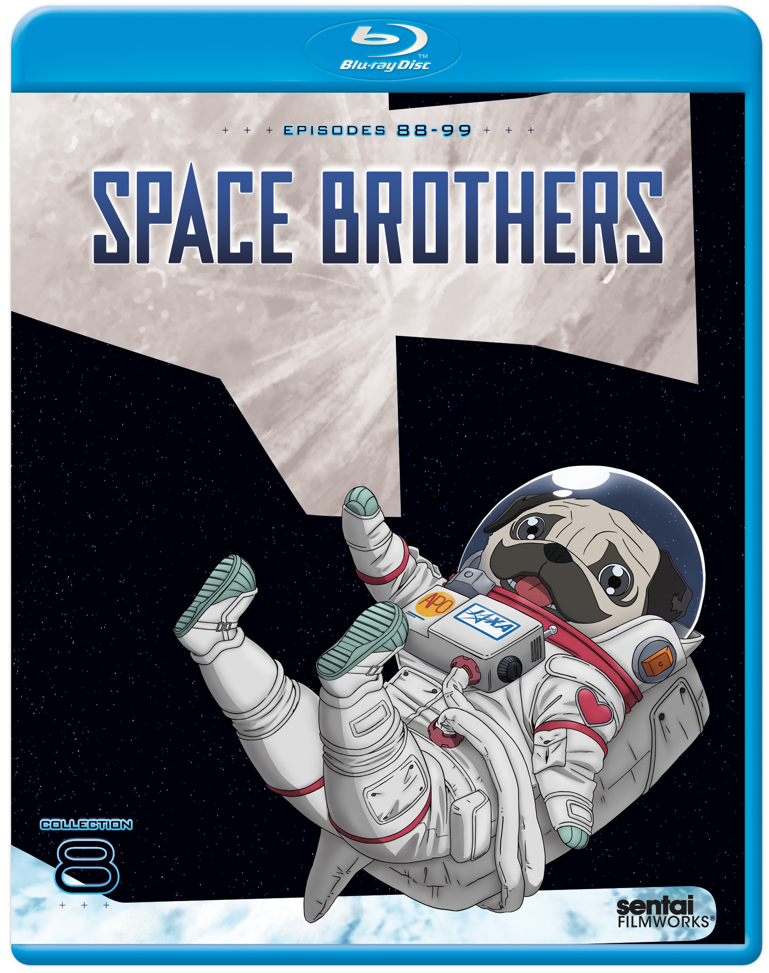 Space Brothers Collection 8 Blu-ray 814131014498