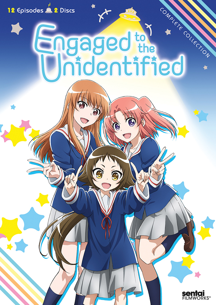 Engaged to the Unidentified DVD 814131014566
