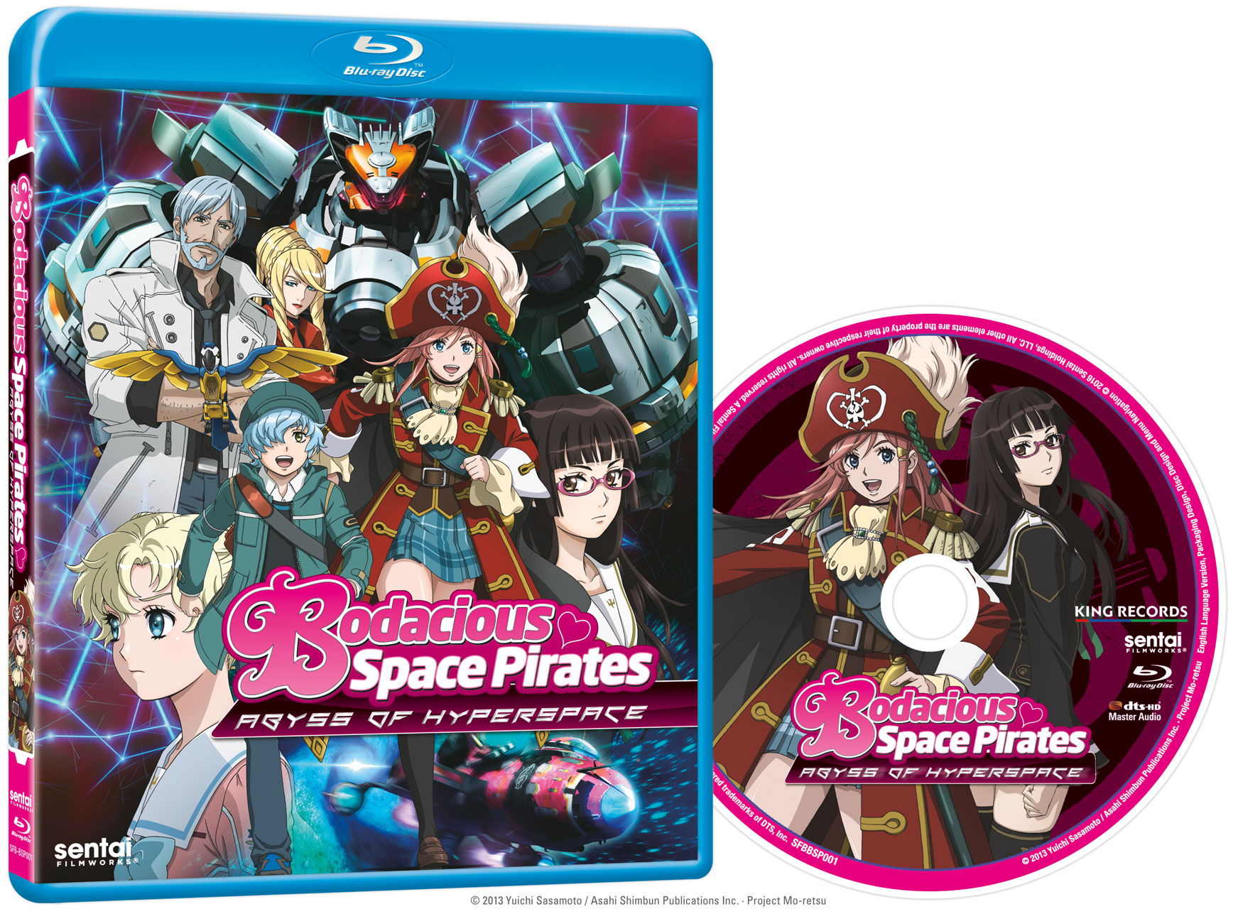 Bodacious Space Pirates Abyss of Hyperspace Movie Blu-ray