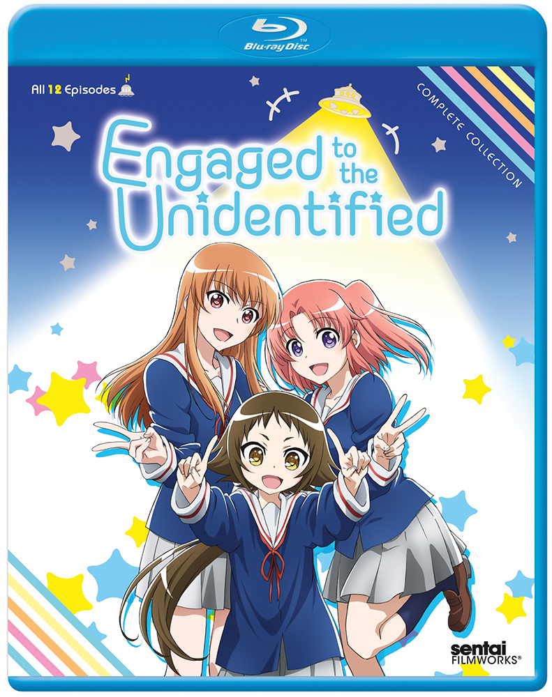 Engaged to the Unidentified Blu-ray 814131014665