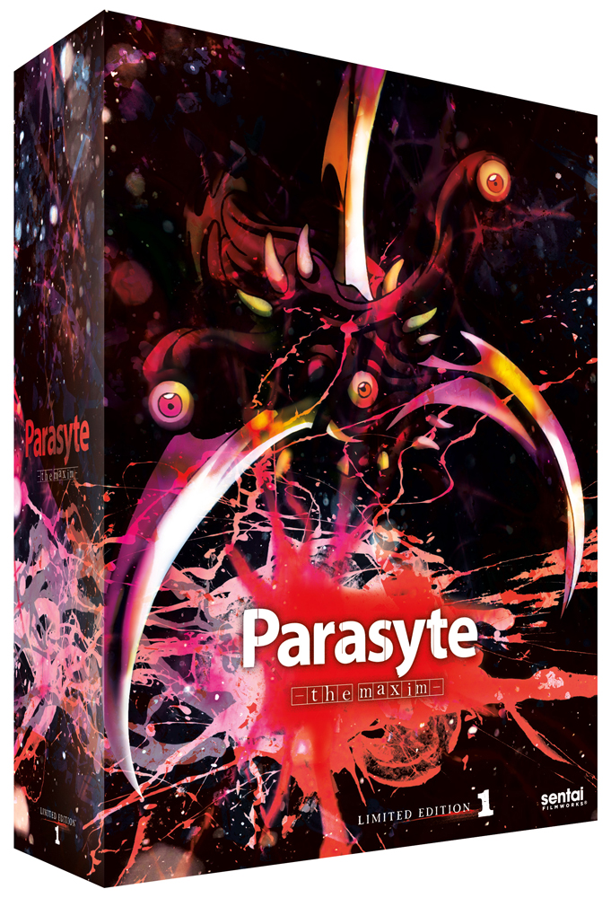 Parasyte - the maxim Box Set 1 Limited Edition Blu-ray/DVD Box Set 814131014689
