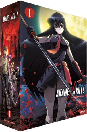 Akame ga Kill Collection 1 Collector's Edition Blu-ray/DVD 814131014788