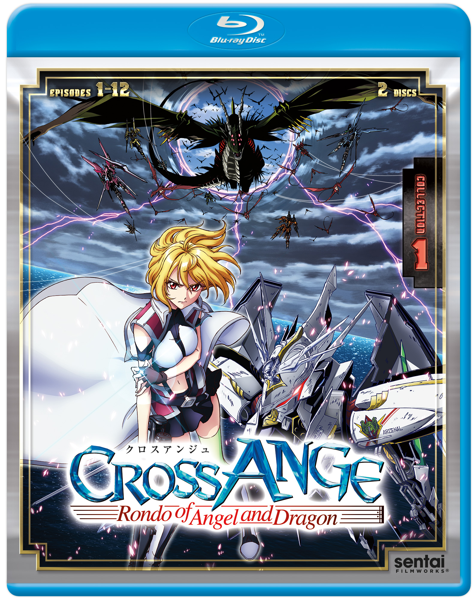 Cross Ange Rondo of Angels and Dragons Collection 1 Blu-ray