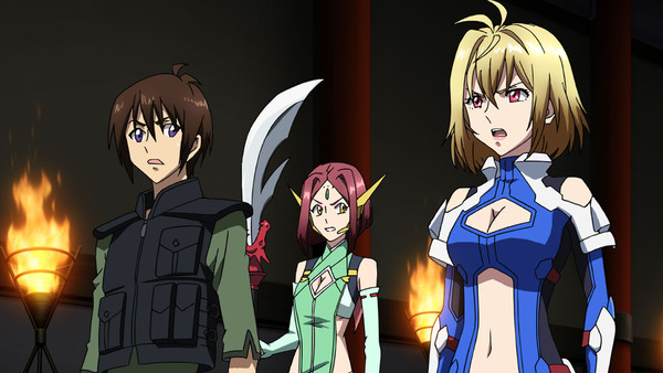 Cross Ange Rondo of Angel and Dragon Collection 2 Blu-ray