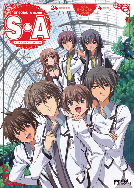 Special A (S.A) Complete Collection DVD