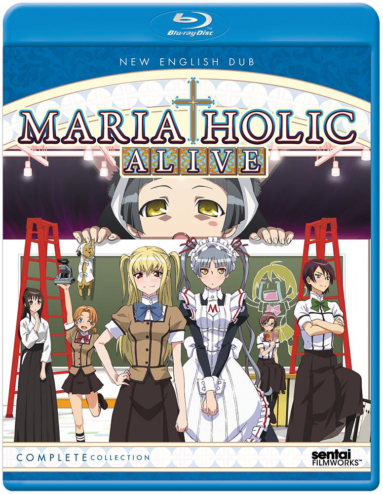 Maria-Holic Alive Blu-ray 814131014948