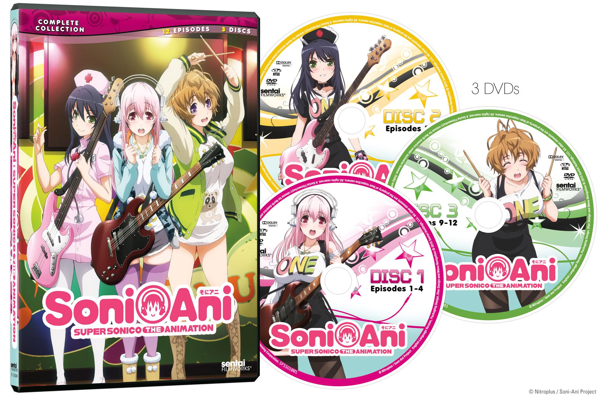 Soni-Ani Super Sonico the Animation DVD