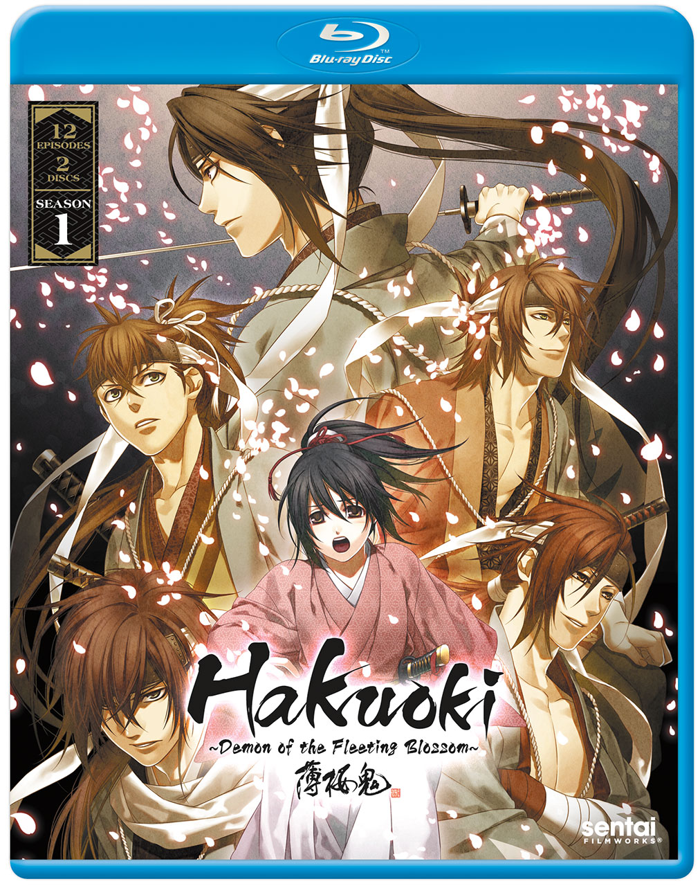 Hakuoki Season 1 Blu-ray 814131015099