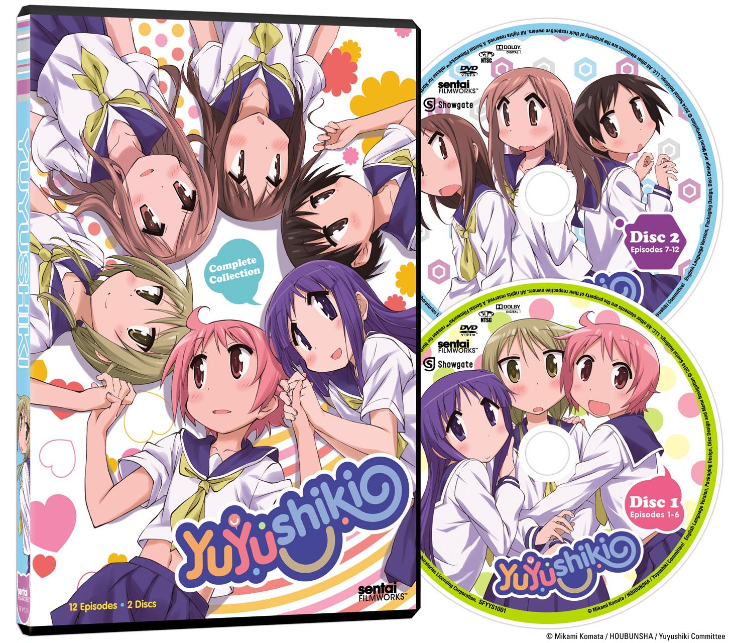 Yuyushiki Complete Collection DVD