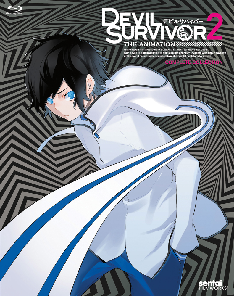 Devil Survivor 2 The Animation Blu-ray