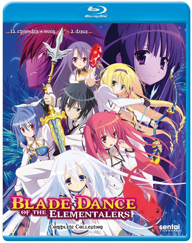 Blade Dance of the Elementalers Blu-ray 814131015280
