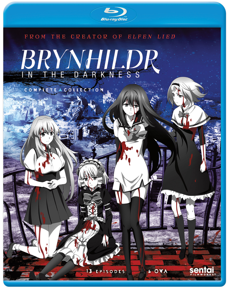 Brynhildr in the Darkness Blu-ray 814131015365