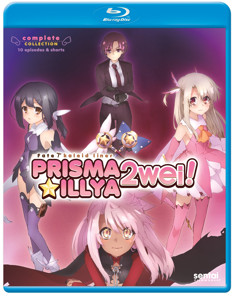 Fate/kaleid liner Prisma Illya 2Wei! Blu-ray 814131015389