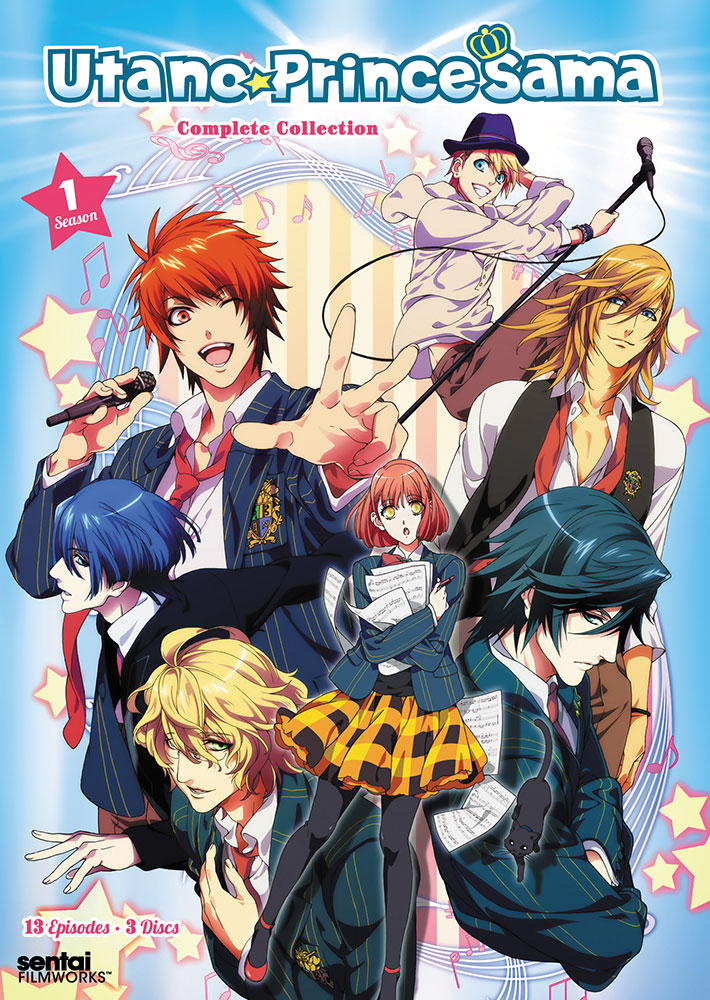 Uta no Prince-sama 1000% Season 1 DVD