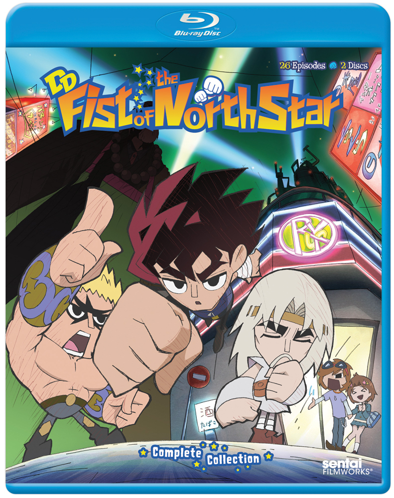 DD Fist of the North Star (2011) Blu-ray 814131015464