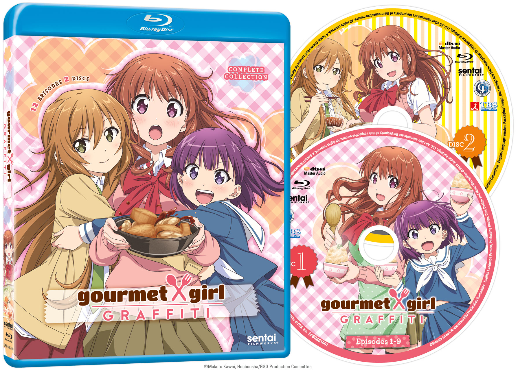 Gourmet Girl Graffiti Blu-ray