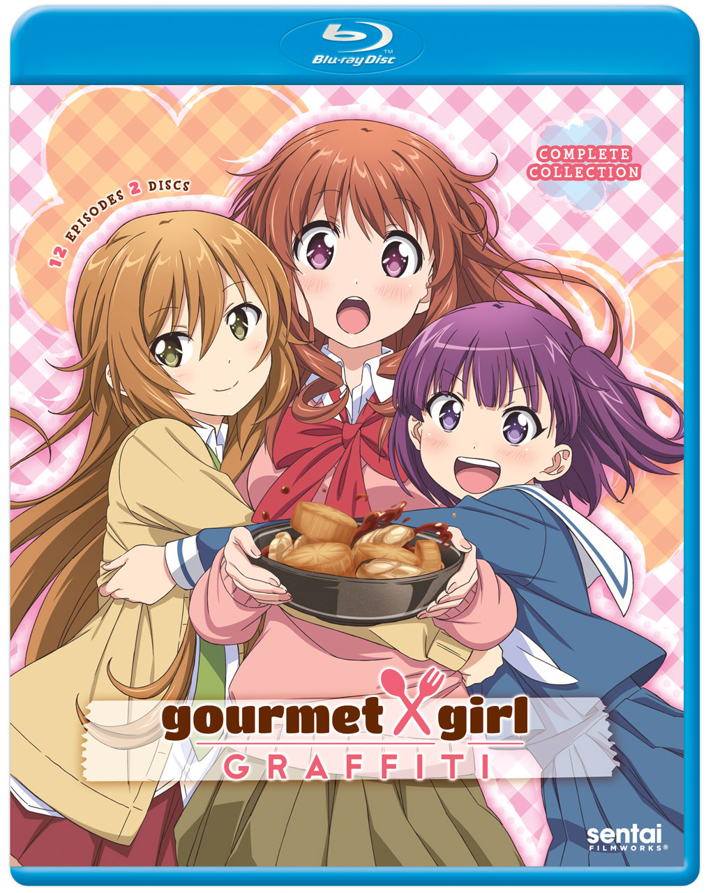 Gourmet Girl Graffiti Blu-ray 814131015495