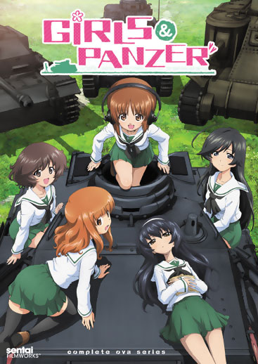 Girls und Panzer Complete OVA Collection DVD 814131015549