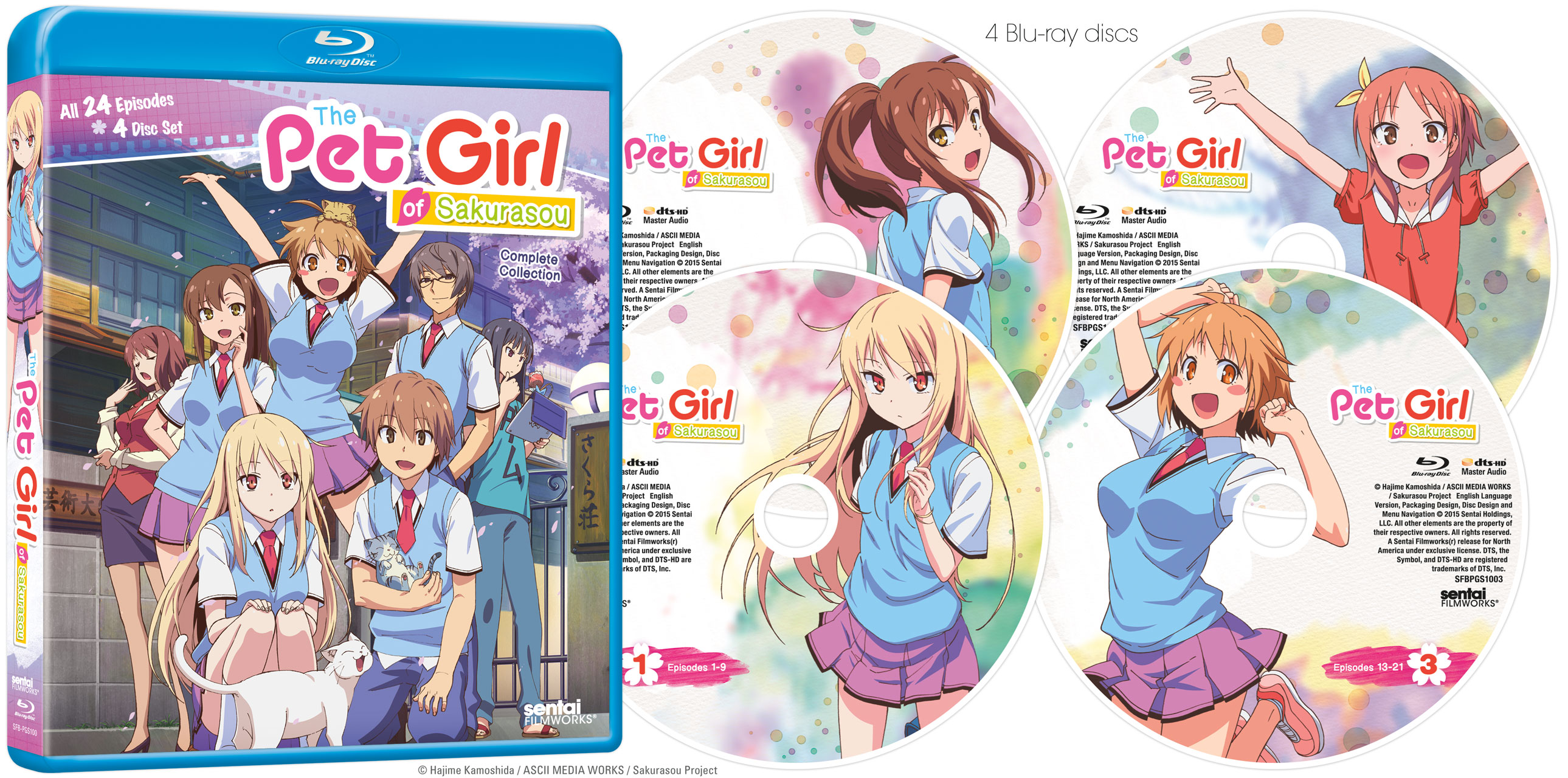 The Pet Girl of Sakurasou Complete Collection Blu-ray