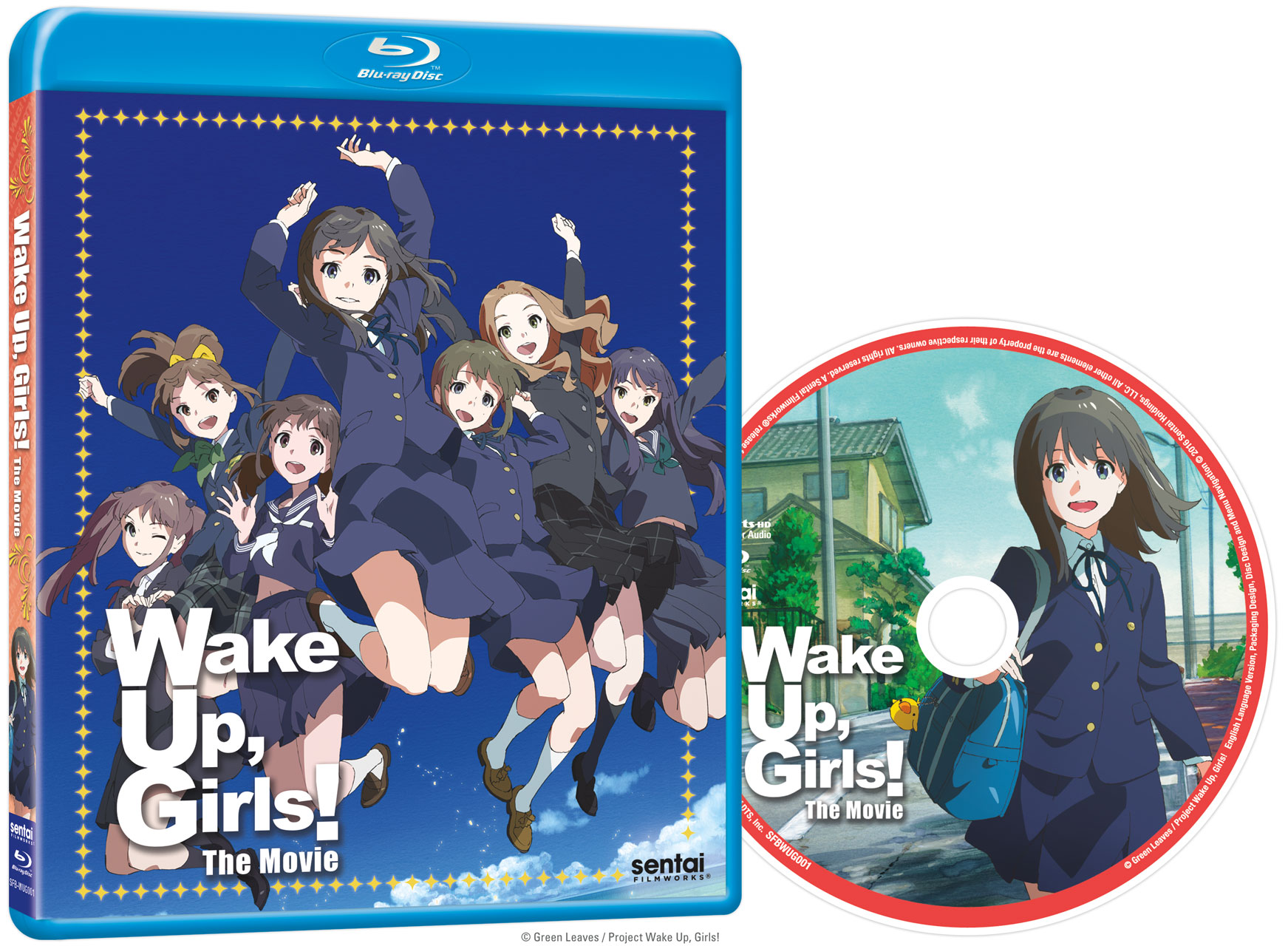 Wake Up, Girls! Movie Blu-ray