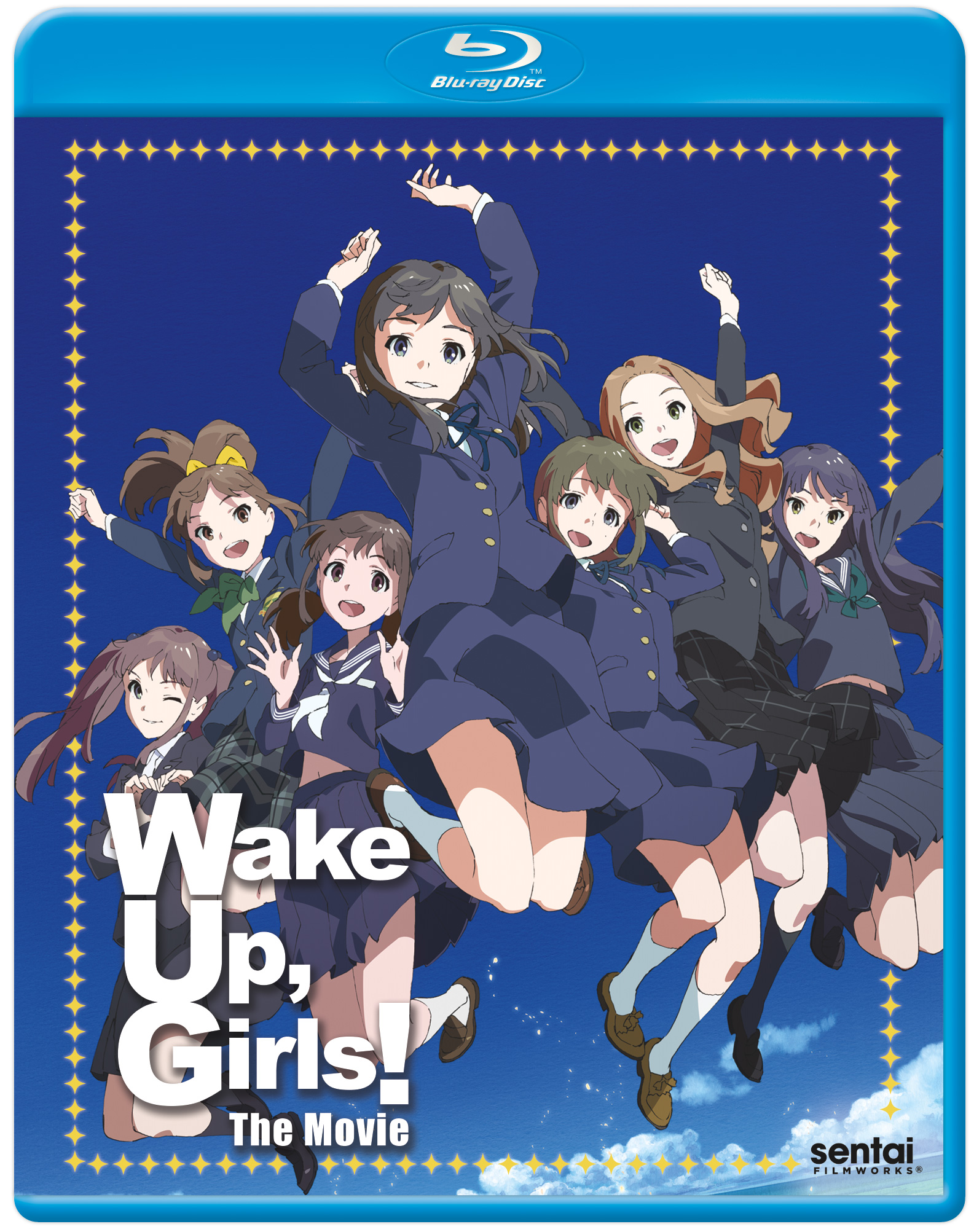 Wake Up, Girls! Movie Blu-ray 814131015587