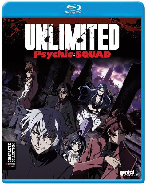 Unlimited Psychic Squad Blu-ray