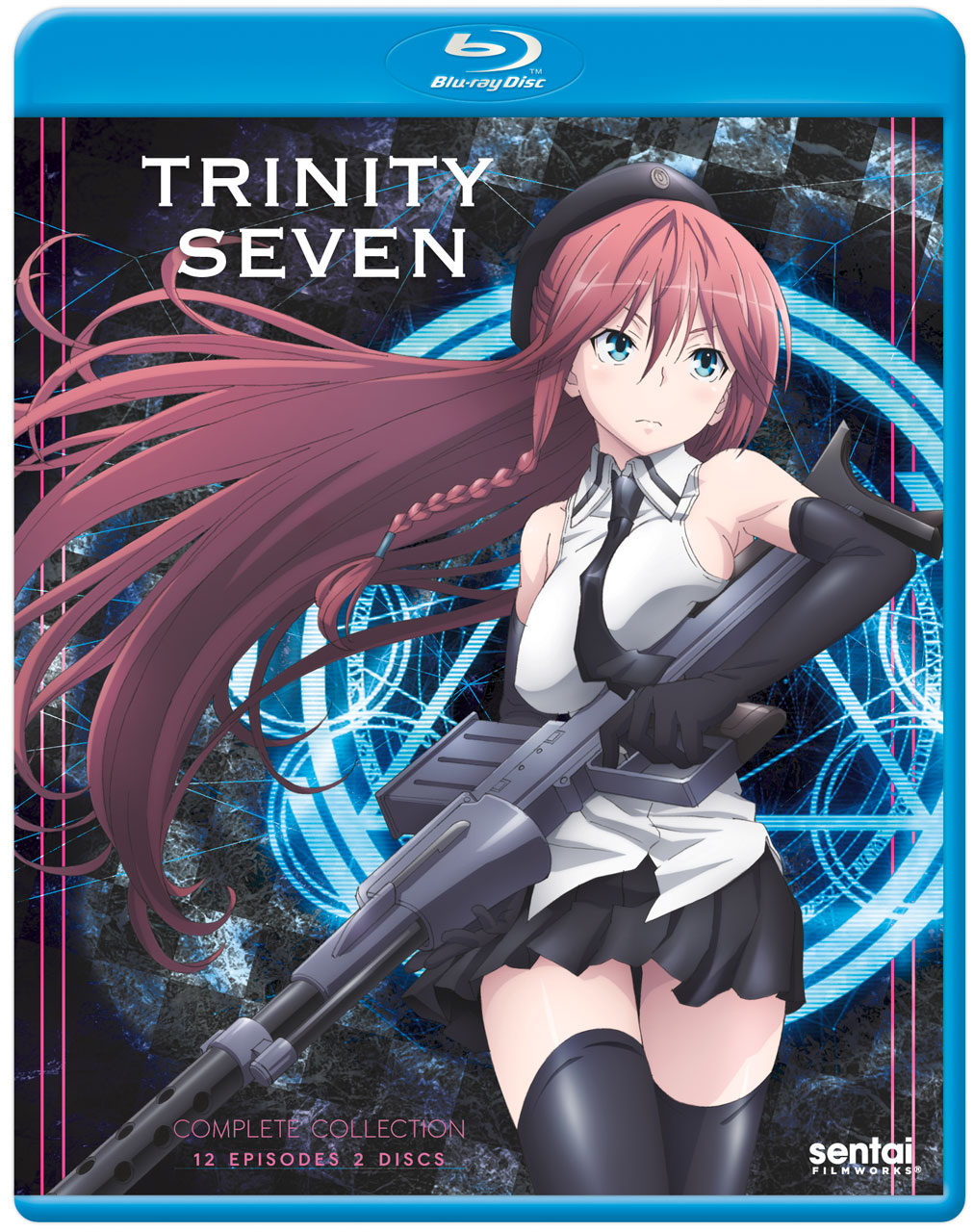 Trinity Seven Blu-ray 814131015686