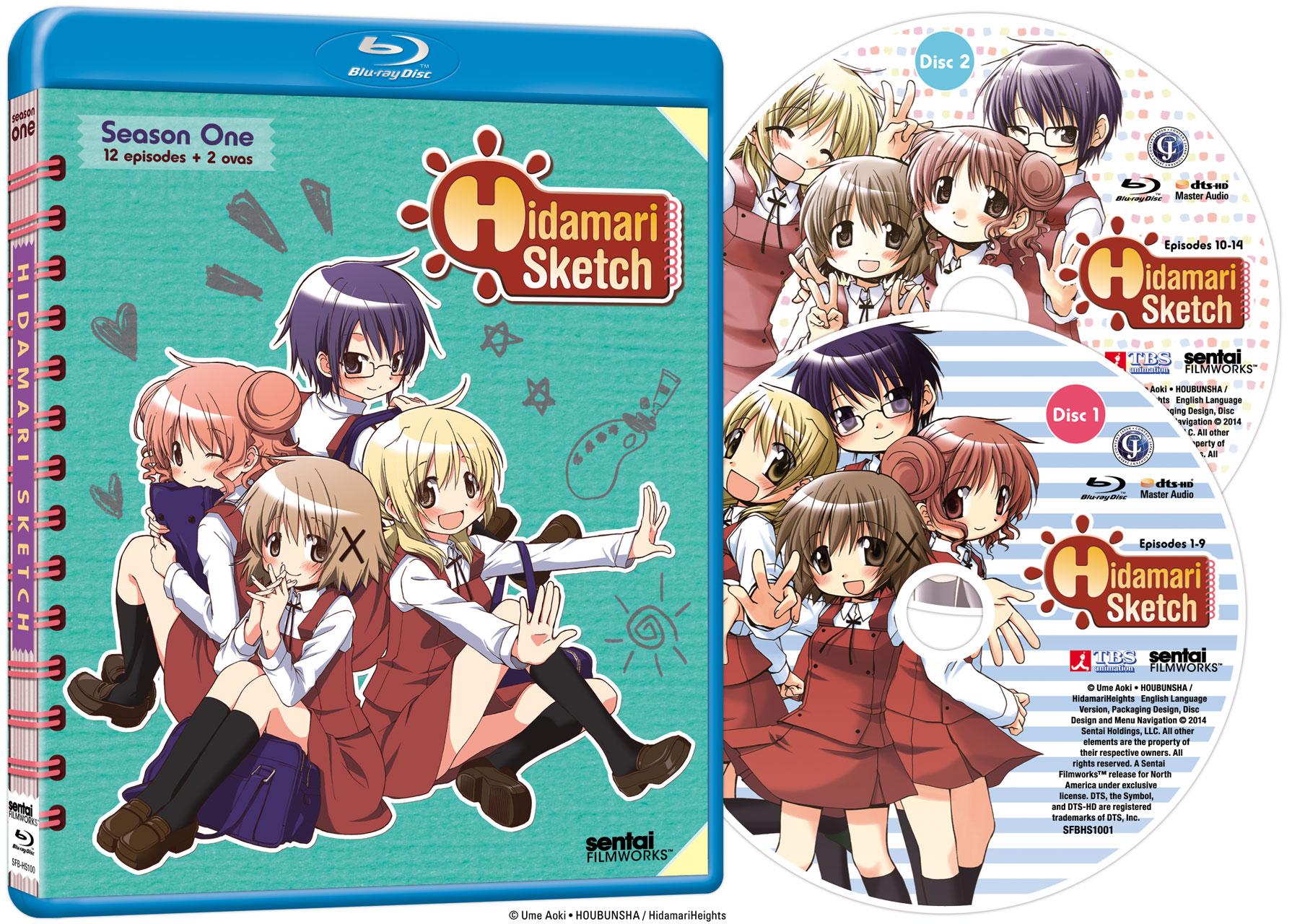 Hidamari Sketch Blu-ray