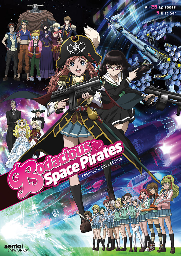 Bodacious Space Pirates Complete Collection DVD