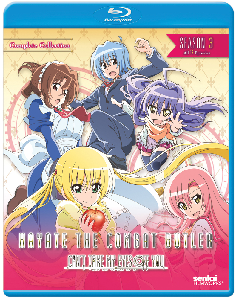 Hayate the Combat Butler Season 3 Can't Take My Eyes Off You Blu-ray 814131015761