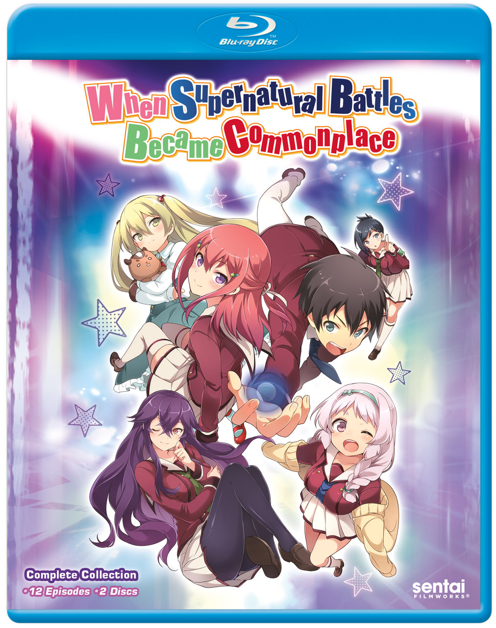 When Supernatural Battles Became Commonplace Blu-ray 814131015785